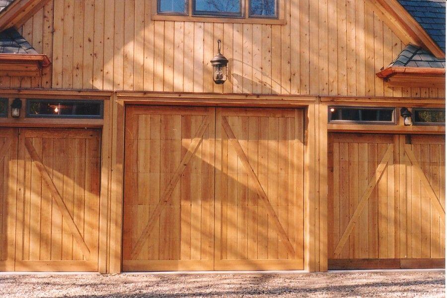 Barn Style Overhead Garage Door Barn Style Overhead Garage Door With False Hinges Matching Property Camp Ideas Overhead Garage Door