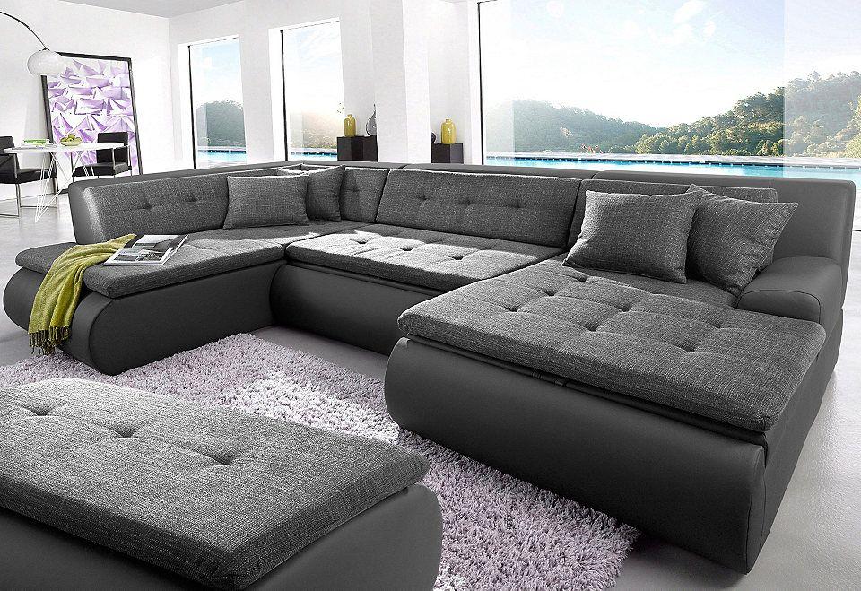 wohnlandschaft lomo   das große sofa in u-form bieten sagenhaft, Attraktive mobel