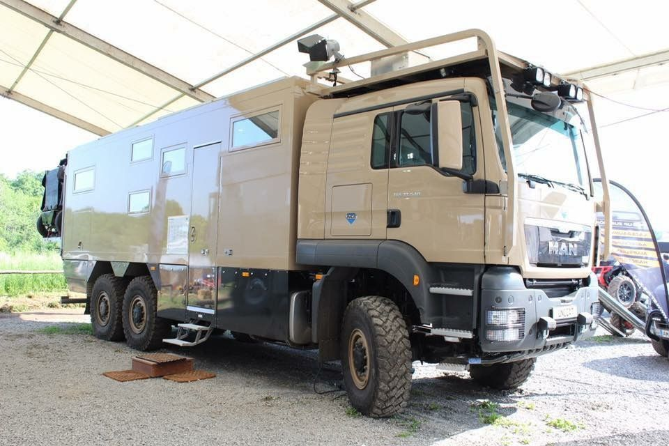 Snooping Into The Md74s Man Tgs 6x6 Expedition Vehicle