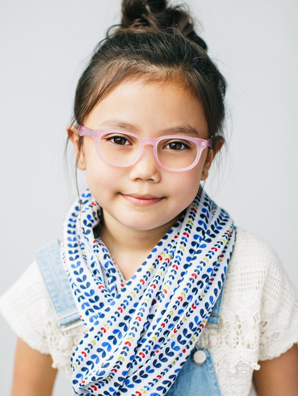f4dcaabc7301 Buy fashionable girls glasses with a purpose. Blush pink round eyeglass  frames for kids by Jonas Paul Eyewear. Prescription lenses included!