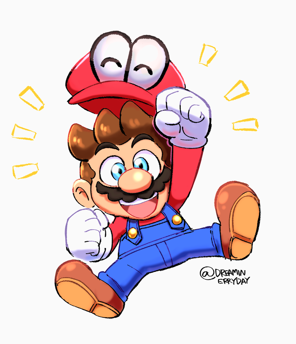 mario odyssey ship png