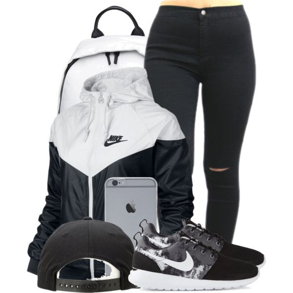 Windbreaker outfit, Nike outfits, Cool outfits