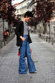 Pantalones Hippies Outfit Boho Chic Pantalones De Campana Para Mujer Moda Retro Moda Anos 70 Flare Jeans Flare Jeans Outfit How To Wear