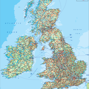 UK Topographic Online Map Store Pinterest - Terrain map uk