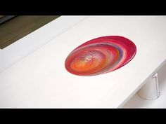 Acrylic Pouring Painting - YouTube