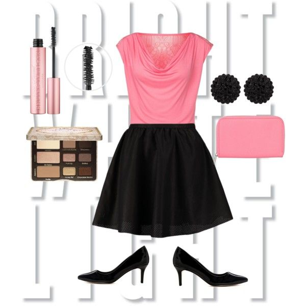Flirty Pink Ensemble – For a night on the town, on an anniversary dinner, or just a night with your girls.