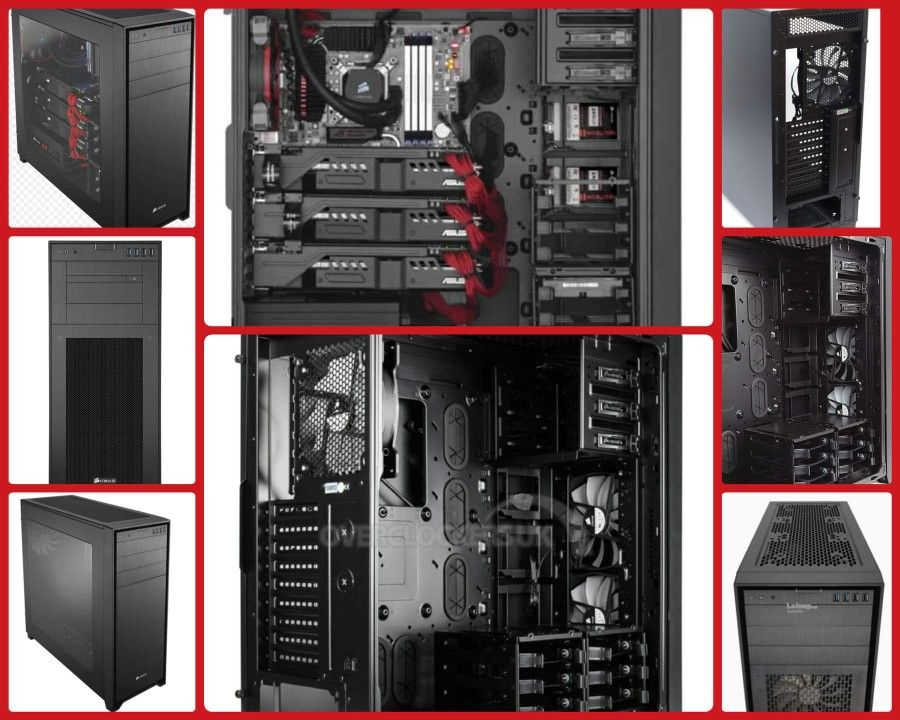 Corsair Obsidian Series 750d Full Tower Atx Case Locker Storage Pc Cases Storage