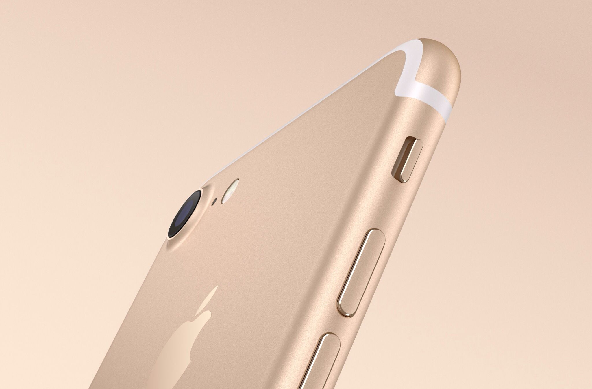 That is the gold color of the new iPhone 7 and 7 Plus