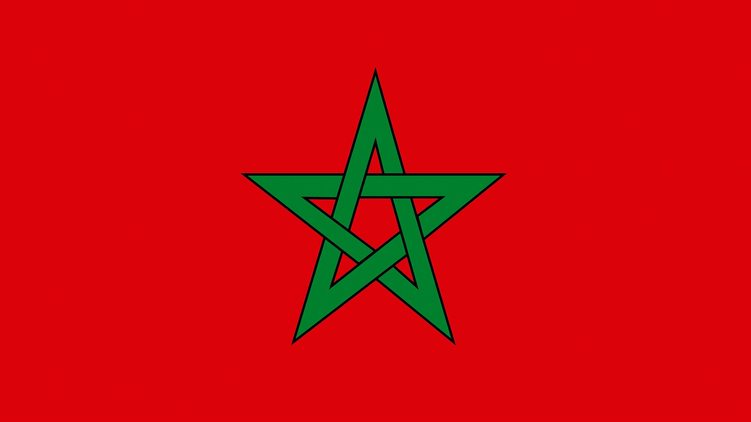 La Estrella Verde De La Bandera De Marruecos Bandera De Marruecos Banderas Del Mundo Con Nombres Banderas Del Mundo