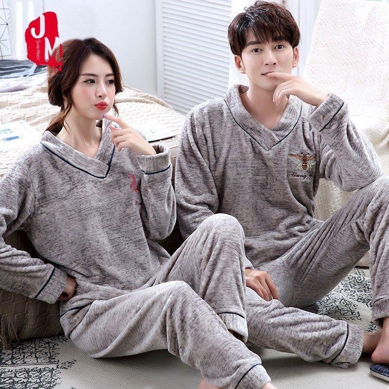 ست لباس خواب مردانه و زنانه پشمی 2