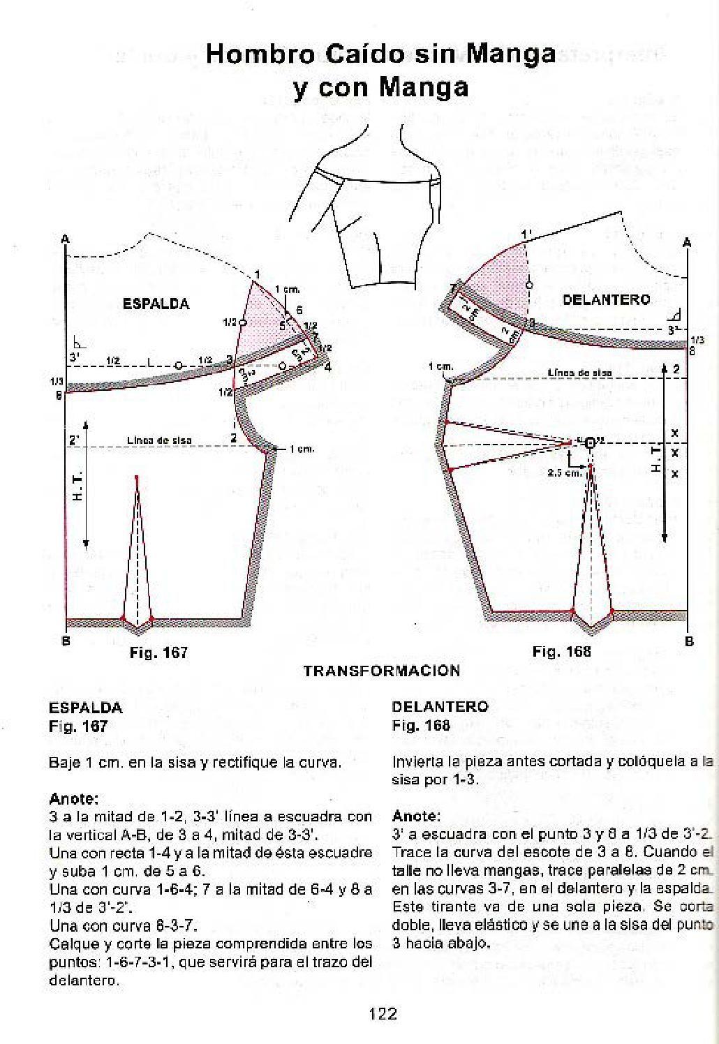 Patron hombro caido | costura | Pinterest | Costura, Moldes y Patrones