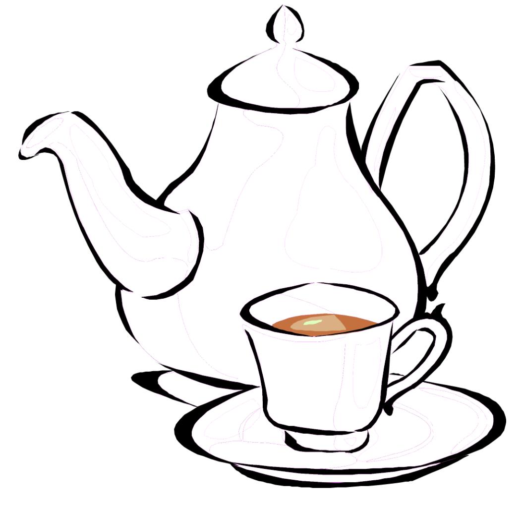 настроения, чашка чая раскраска если