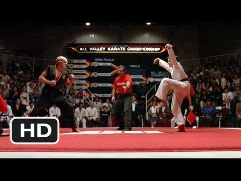 The Crane Kick - The Karate Kid (8/8) Movie CLIP (1984) HD Followed by a Part 2 and 3 Excellent family movies.