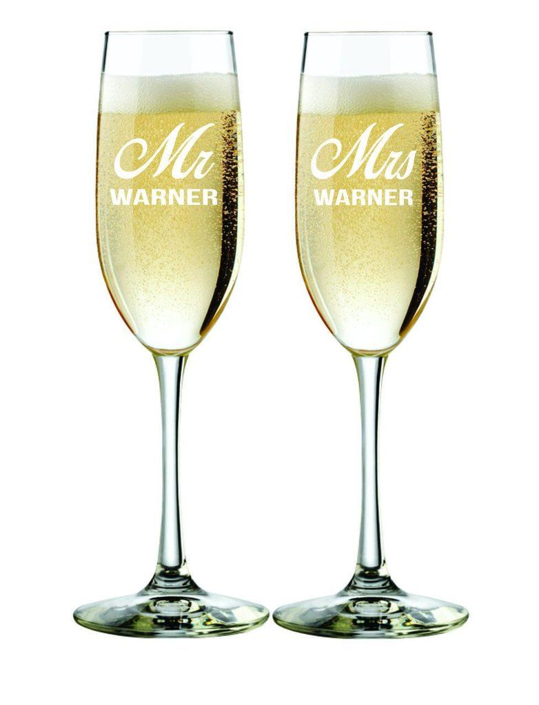 These are the perfect gift for a newly engaged or married couple ...