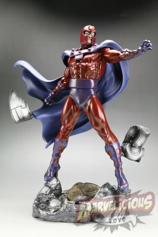 KOTOBUKIYA MAGNETO    Marvelicious Toys - The Marvel Universe Toy & Collectibles Podcast