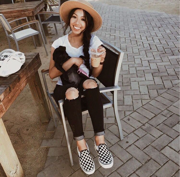 14 Outfits casuales y baratos que siempre te haru00e1n ver guapa | Vans Clothes and Vans outfit