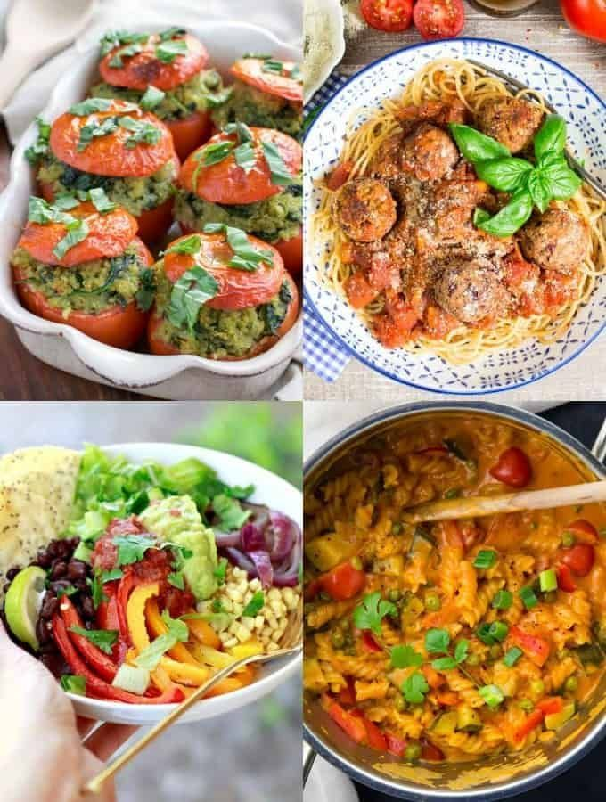 35 Easy Vegan Dinner Recipes for Weeknights - Vegan Heaven  Easy Vegetarian Meals Ideas