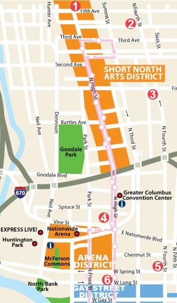 Brewers Row Map Columbus Pinterest Local brewery and Restaurants