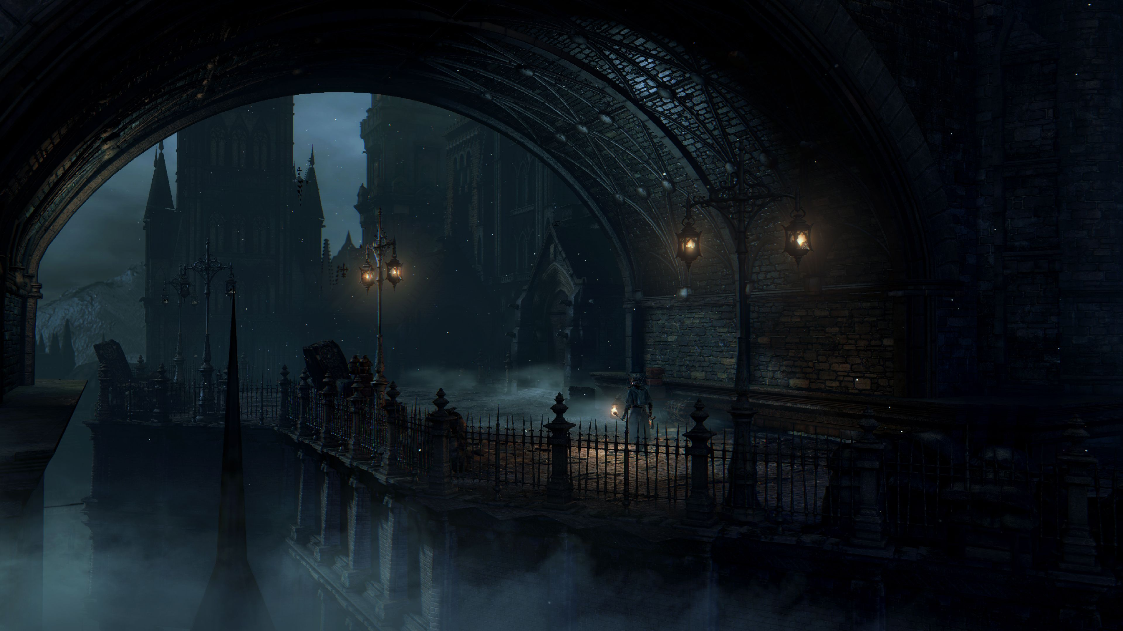 Screenshot With Images Bloodborne Concept Art Digital Art