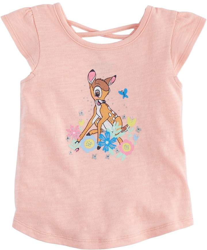 1e82298cb Disneyjumping Beans Disney's Bambi Baby Girl Cross-Back Tee by Jumping Beans