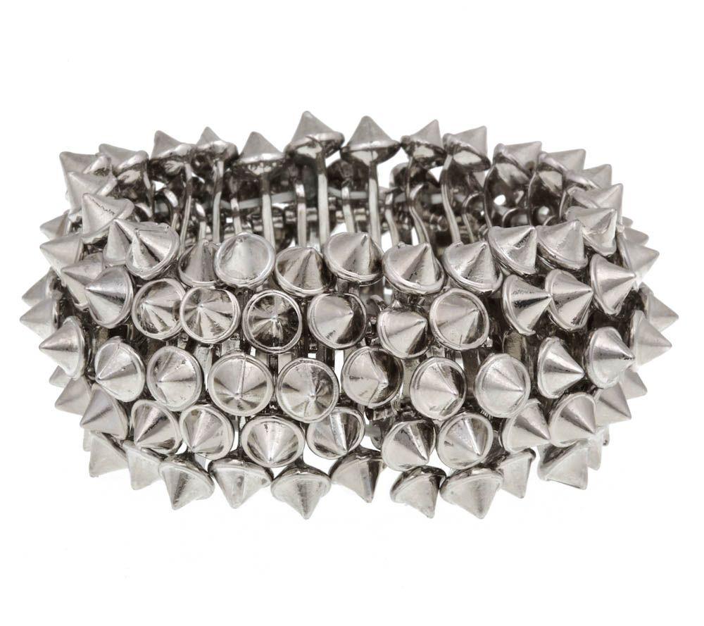 Send the Trend Ace Mini Spike Bracelet $28.00  http://www.sendthetrend.com/product/send-trend-ace-mini-spike-bracelet