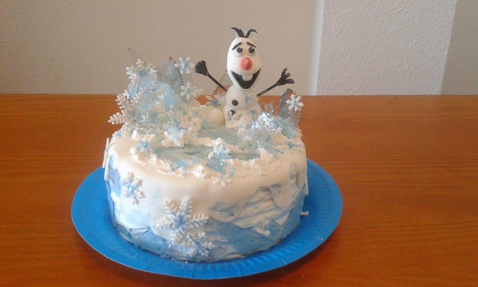 Tartas Infantiles de Camelia: TARTA OLAF