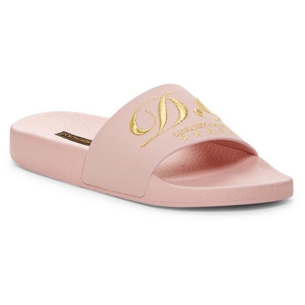 Dolce & Gabbana Shower Slide Sandal KfAkQ7W