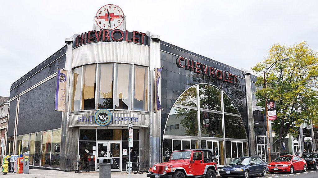 Former Hallman's Chevrolet Dealership, Rochester, New York | Larunda