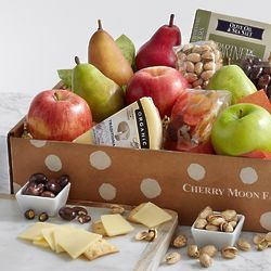 Dad's Favorite Fruit, Cheese, and Snacks Gift Box