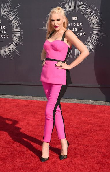 Gwen Stefani Red Carpet Fashion Pink Fashion Nice Dresses