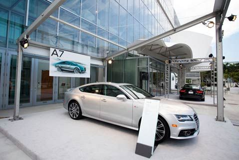 Audi A7 Launch Uses Online R S V P To Set Up Test Drives Send Traffic To Dealers New World