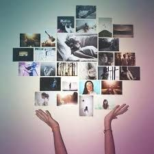 Image Result For Photo Collage On Wall Without Frames Home