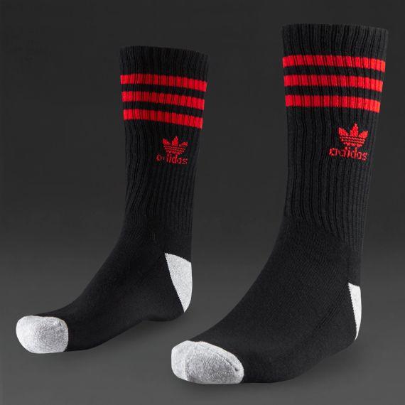 e7bd1fafdcef36 black and red Adidas socks
