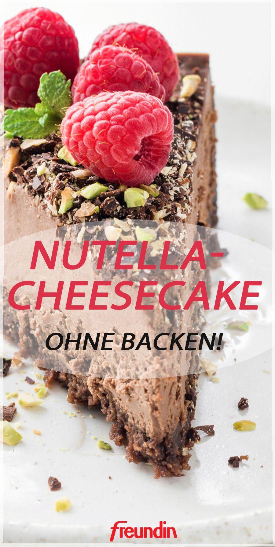 Sonntags-Rezept: Nutella-Cheesecake ohne Backen | freundin.de