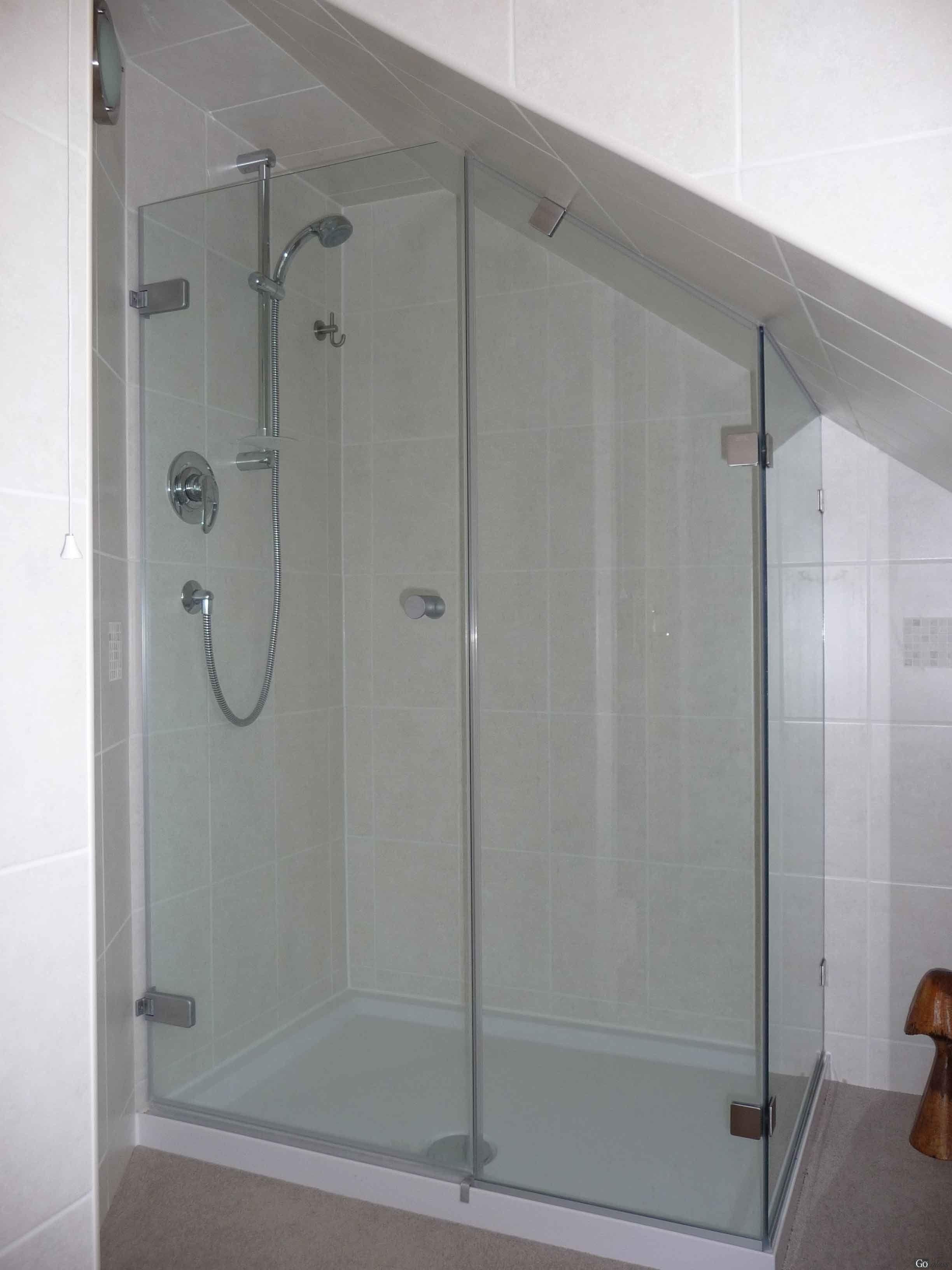 glass shower doors frameless | Frameless Shower Enclosures - Shower ...