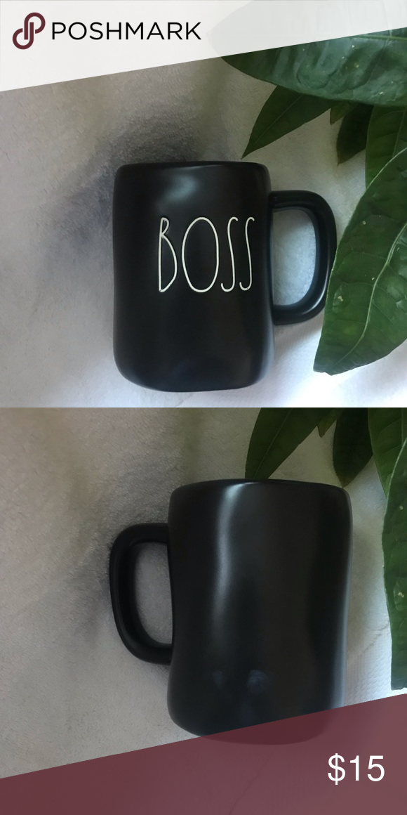 Rae Dunn BOSS  big cup