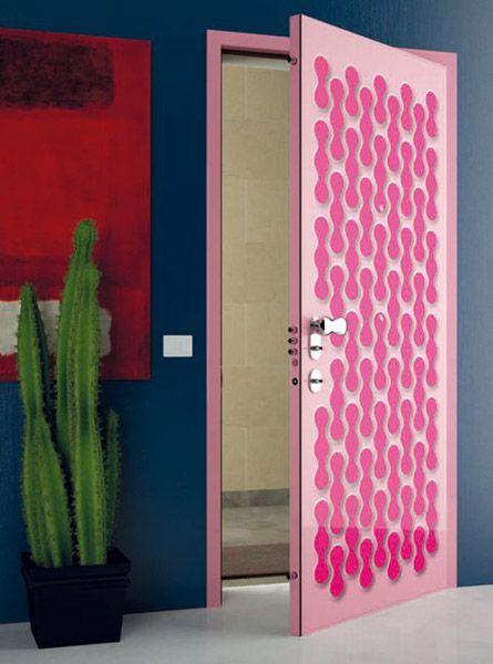 Modern Painted Interior Doors 11 door decorating ideas to create modern interior doors | home