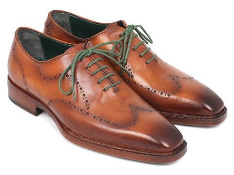 Paul Parkman Men's Wingtip Oxford Goodyear Welted Camel/Brown – Styles By Kutty