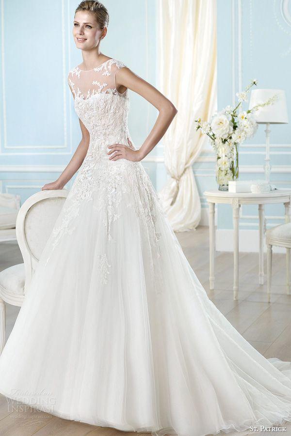St Patrick 2014 Wedding Dresses Glamour Bridal Collection Wedding Inspirasi Page 2 Wedding Dresses Wedding Dresses 2014 Bridal Wedding Dresses