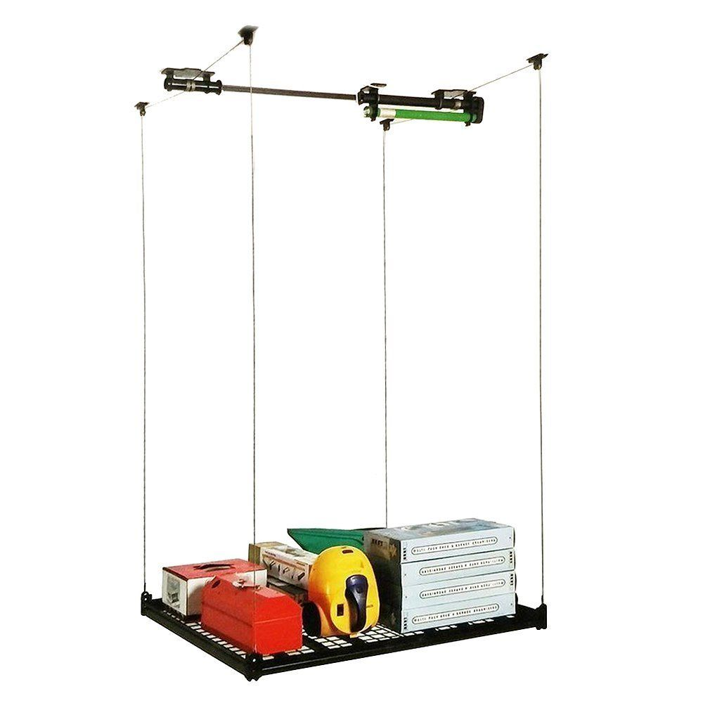 Amazon Com 4ft X 4ft Celling Mounted Rack Garage Storage
