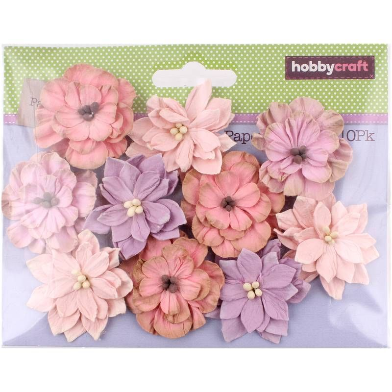 Pink Paper Flowers 10 Pack Wish List Paper Flowers Pink Paper