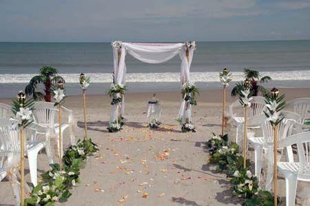 Beach Wedding Ideas On a Budget cheap beach weddingbeach
