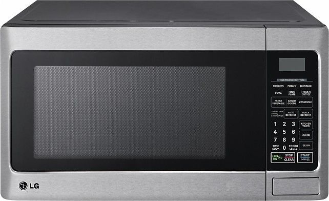 Lg 1 1 Cu Ft Mid Size Microwave Stainless Steel Model