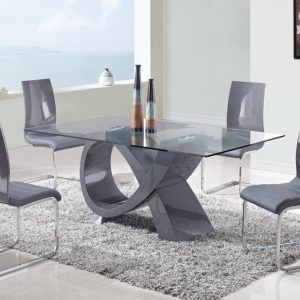 Contemporary Glass Dining Room Tables Classy Modern Glass Dining Room Table And Chairs  Httpecigcoach Review