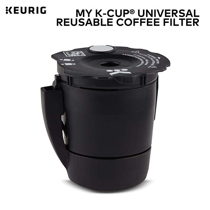 Amazon Com Keurig My K Cup Universal Reusable K Cup Pod Coffee Filter Compatible With All 2 0 Keurig K Cup Pod Pod Coffee Makers Keurig Coffee Makers Keurig