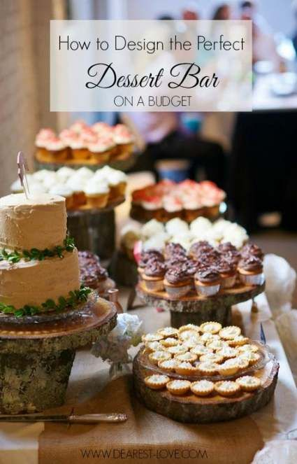 19+ ideas wedding reception food on a budget diy -   23 diy Wedding desserts ideas