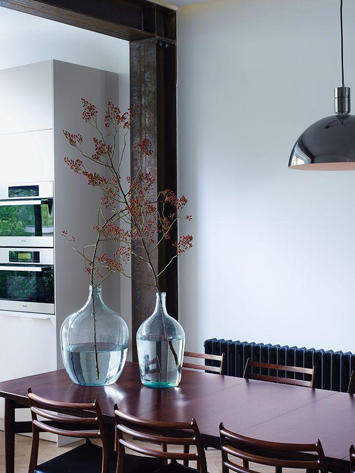 Amsterdam flat with vintage Danish dining table   Decor   Pinterest ...
