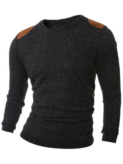 Casual Cotton Wool Mens Pullover Sweater,Cheap Trendy on Sale ...