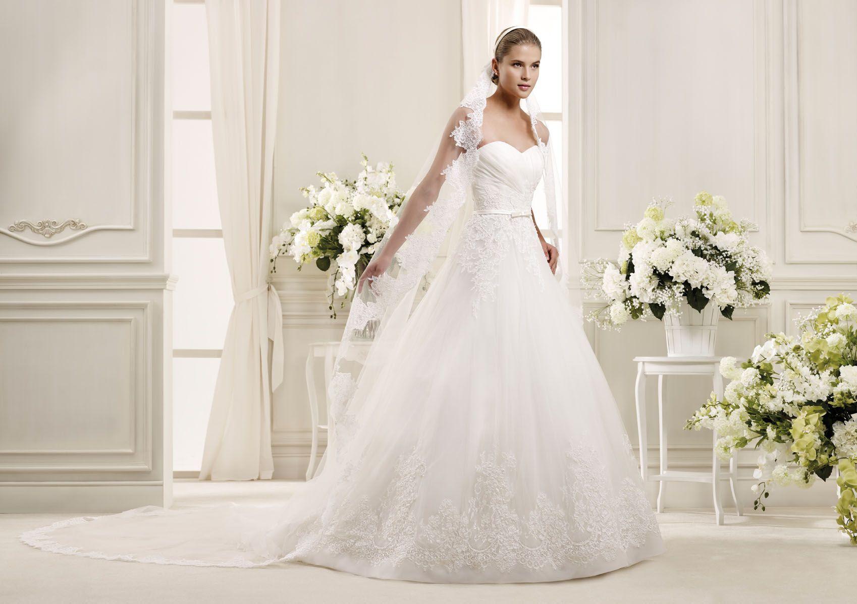 Abiti da sposa 2016, Nicole Spose: vestito con maniche di pizzo - Google keresés