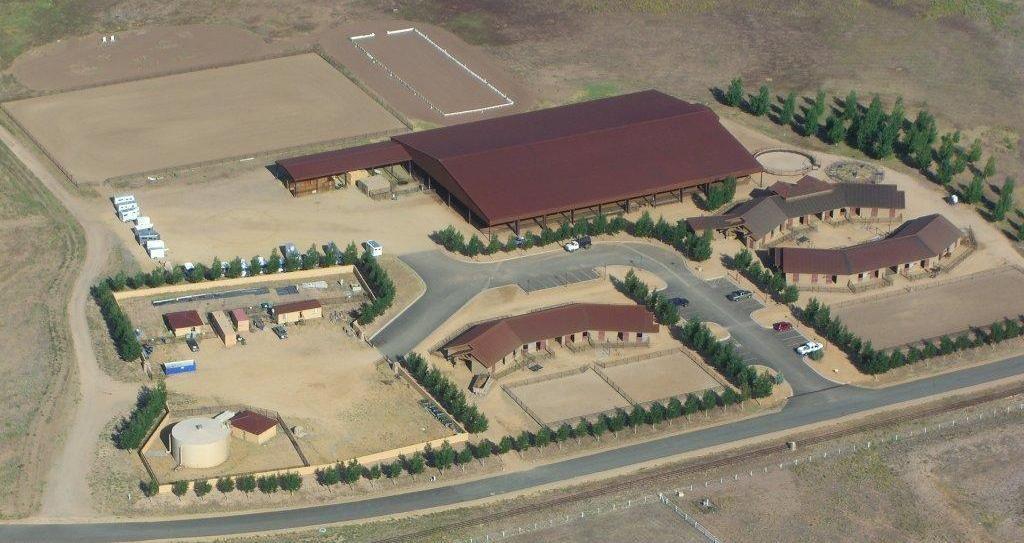 American ranch community association equestrian center